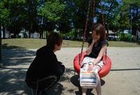 公園で見かけた美人●児ママをナンパ