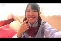 エロカワ制服娘♥指だけで何度もイキまくるオナニー【自画撮り】Vol.04