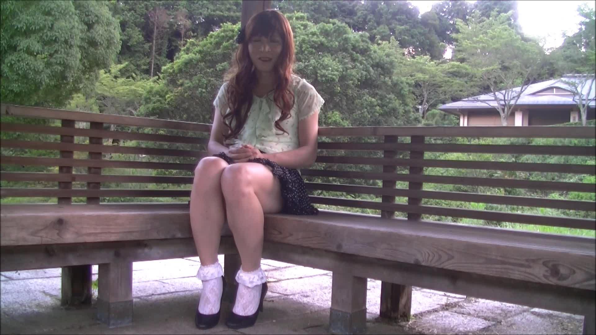 女装子ayako  お出かけハプニング