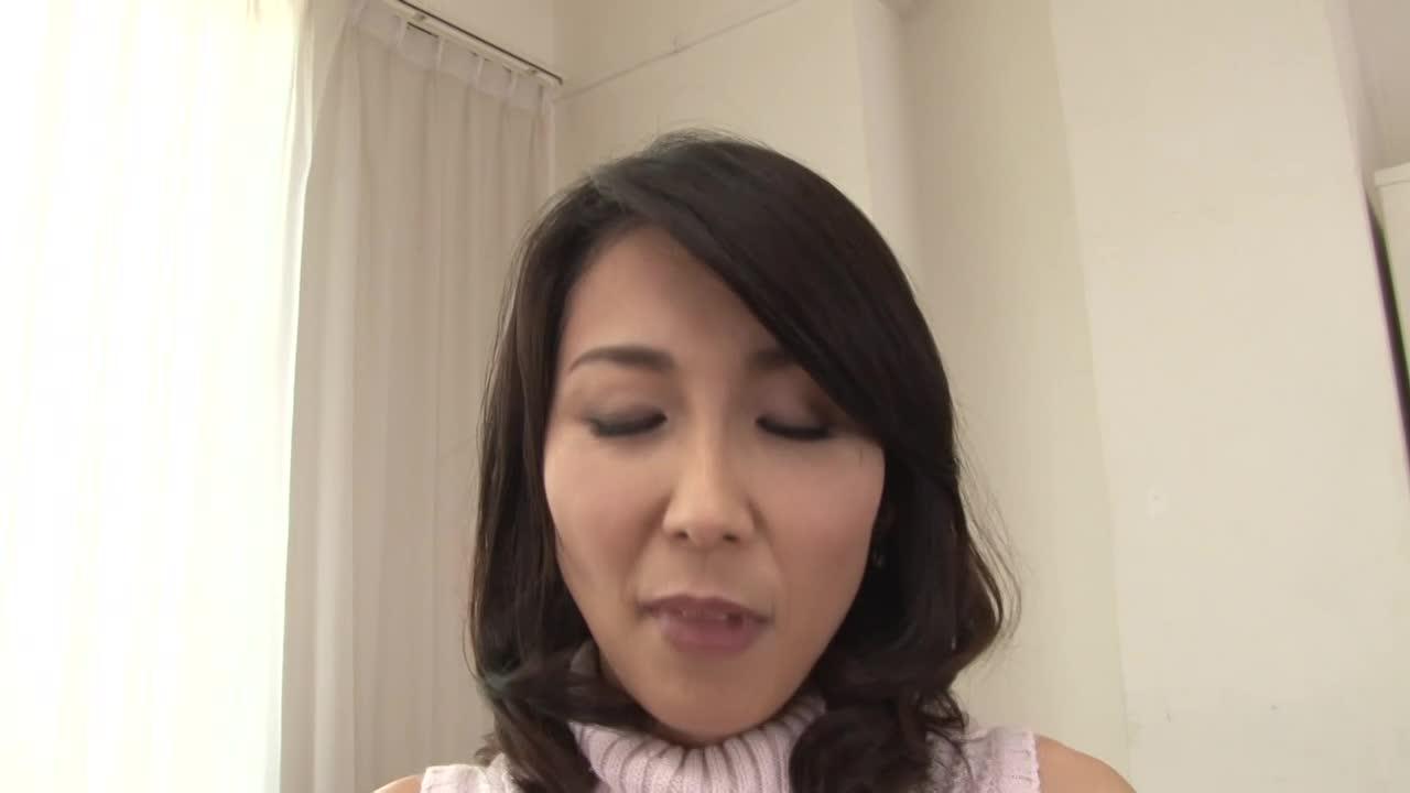 【木村はな】四十路美熟女人妻が長いインタビュー後にAV撮影開始♪脇の下...